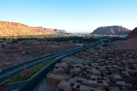 nabatean: Old town of Al-Ula in Saudi Arabia