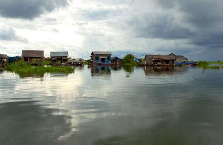siem reap: Floating Village Tonle Sap Lake Cambodia Siem Reap