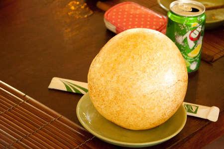 speciality: sticky rice balls speciality in Vietnam