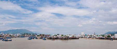 trang: Harbor of Nha Trang in Vietnam