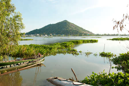 can tho: Can Tho in Mekong Delta in Vietnam Stock Photo