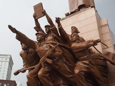 largest: largest Mao Zedong statue in Shenyang China