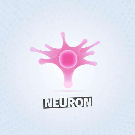 neurone: Pink neuron