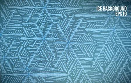 추상 얼음 패턴 벡터 눈 배경입니다. 선 스타일 서 리 겨울 패턴입니다.