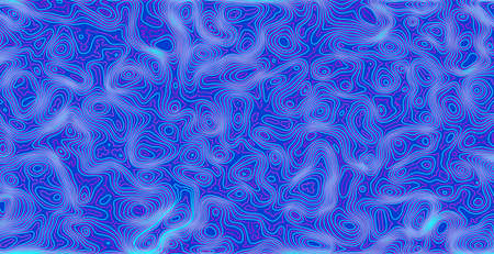 Line art pattern with topology background on background. Technology background vector.