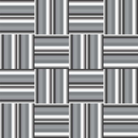 Seamless checked pattern. Vector art. Vector