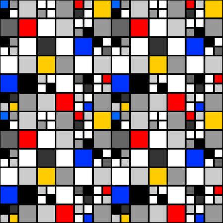 Ontwerpen naadloos patroon. Stock Illustratie