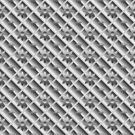Design seamless metallic diagonal pattern. Stock Vector - 23091287