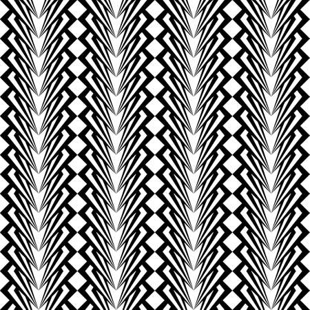 Design seamless monochrome vertical pattern. Vector art Vector