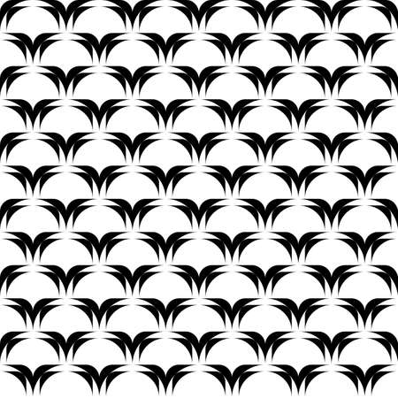 Design seamless monochrome diagonal pattern. Vector art Vector