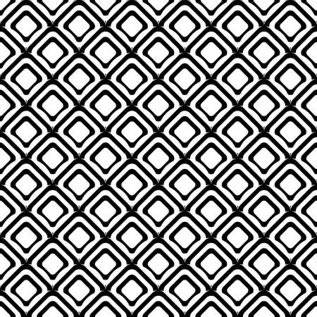 uncolored: Dise�o de fondo de diamantes sin color sin fisuras. Vector art Vectores