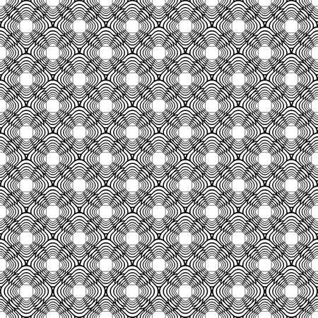uncolored: Dise�ar patr�n diagonal diamante sin color sin fisuras. Vector art Vectores