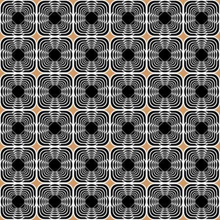 uncolored: Design seamless uncolored geometric background. Vector art