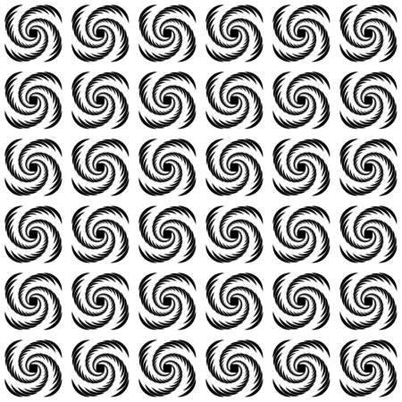 uncolored: Design seamless uncolored wave pattern. Vector art