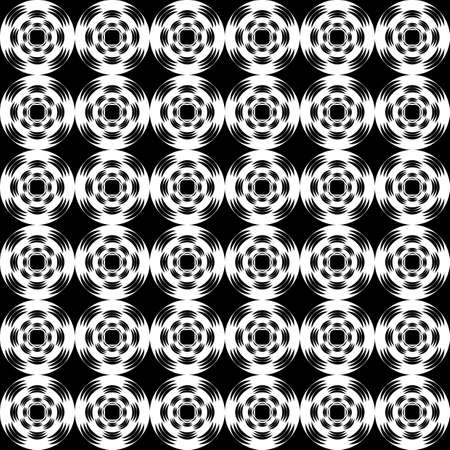 uncolored: Design seamless uncolored abstract pattern. Lattice background. Vector art