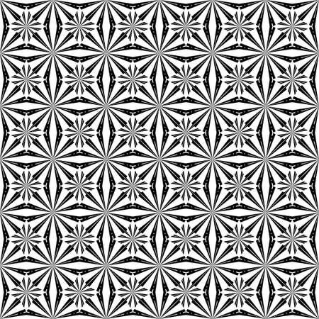 uncolored: Design seamless uncolored striped geometric diagonal background. Vector art