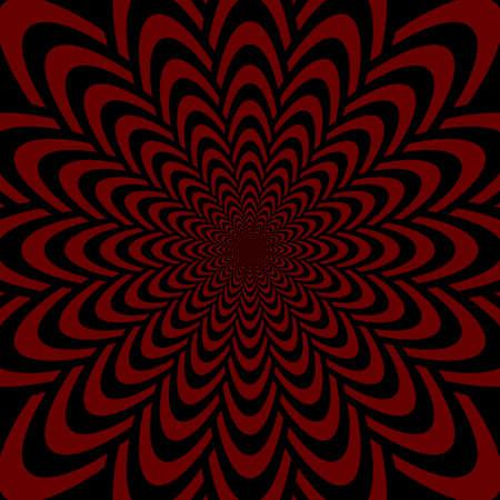vanish: Op art design abstract perspective funnel textured backdrop  Vector-art illustration