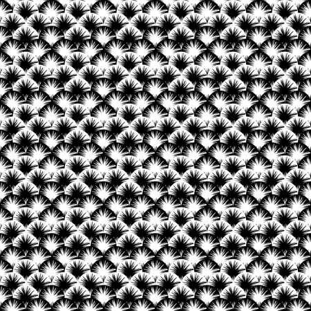 motley: Design seamless monochrome abstract pattern  Motley terry texture  Vector art Illustration