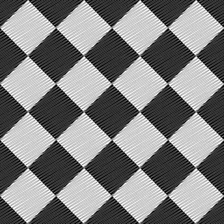 uncolored: Dise�o sin fisuras patr�n geom�trico sin color abstractas rombo doodle de textura de fondo Vector de arte