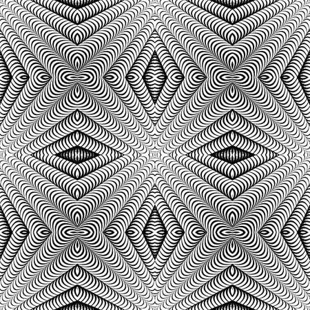 parallelogram: Design seamless diamond striped pattern