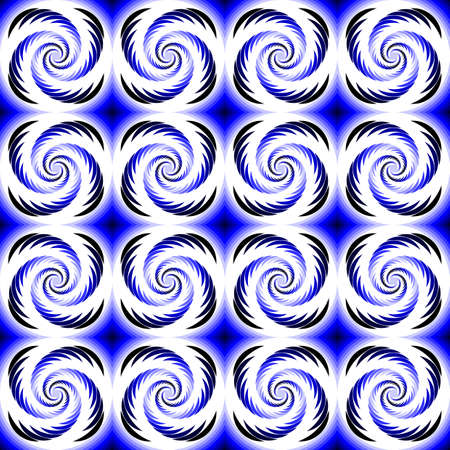 Design seamless colorful helix motion pattern. Abstract twirl background. Vector art Vector