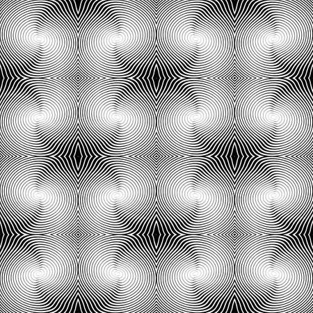 uncolored: Dise�o de la raya sin color sin patr�n diagonal. L�neas serpenteantes con textura abstracta de fondo. Vector art Vectores
