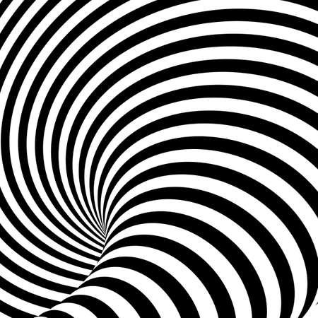 uncolored: Design uncolored whirlpool motion illusion background