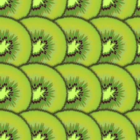 sliced: Rodajas patr�n kiwis