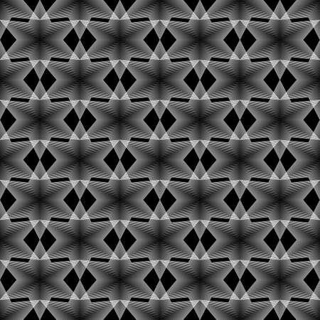 latticed: Design seamless monochrome geometric latticed pattern.