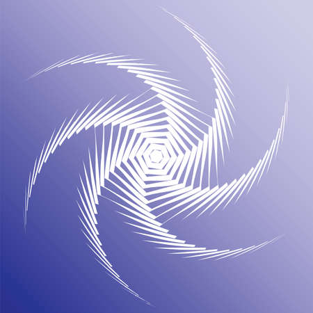 torsion: Design colorful twirl movement background. Abstract lines torsion backdrop.