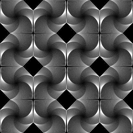 latticed: Design seamless colorful decorative rhombus geometric pattern.