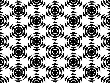 Design seamless monochrome diamond geometric pattern. Abstract trellis diagonal background. Vector art Vector