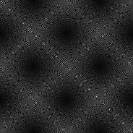 speckled: Design seamless rhombus striped pattern. Abstract geometric monochrome background. Speckled texture. Vector art Illustration