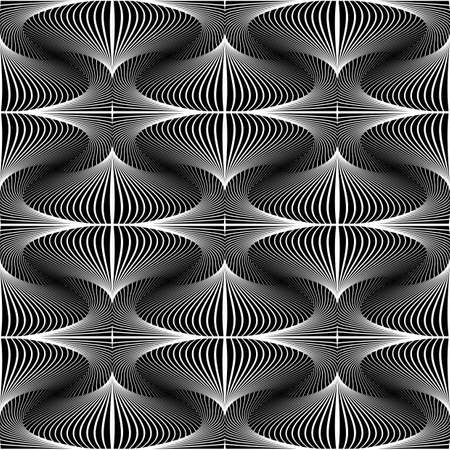 Design seamless decorative geometric pattern. Abstract monochrome background. Speckled texture. Vector art Иллюстрация