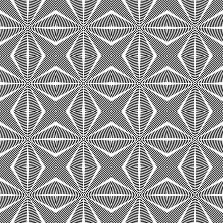Design seamless diamond lattice pattern. Abstract geometric monochrome background. Speckled texture. Vector art Vector