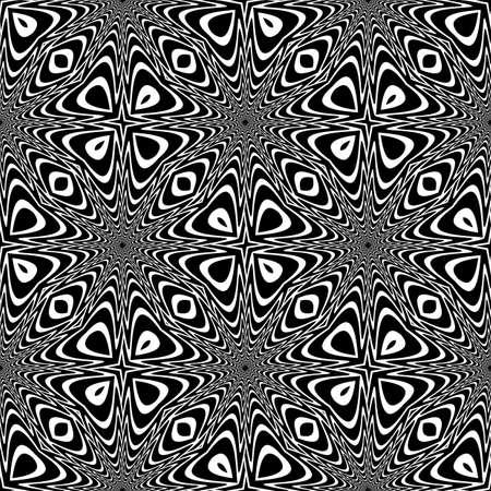 Design seamless monochrome speckled background.  Vector