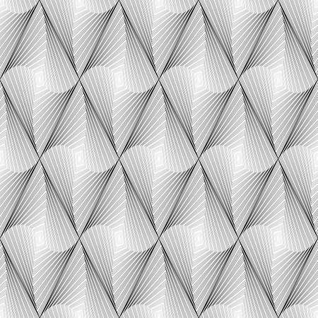 speckled: Design seamless diamond geometric pattern. Abstract monochrome decorative background. Speckled texture. Vector art Illustration