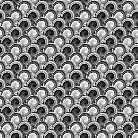whirlpool: Design seamless monochrome whirlpool diagonal pattern.