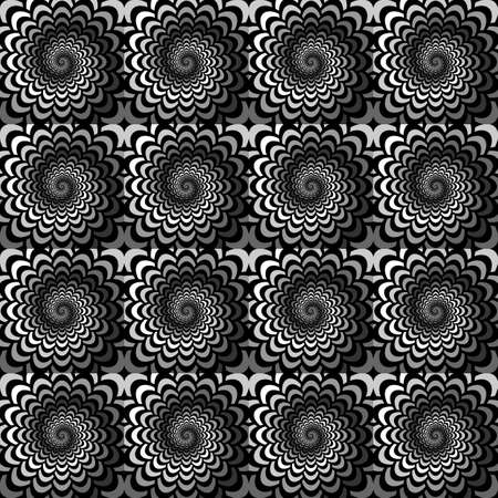 snakeskin: Design seamless monochrome spiral movement snakeskin pattern.