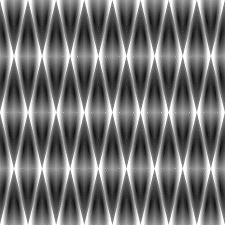 parallelogram: Design seamless monochrome diamond pattern. Abstract geometrical textured background. Vector art. No gradient