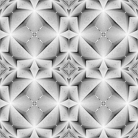 speckled: Design seamless decorative trellised pattern. Abstract geometric monochrome background. Speckled texture. Vector art