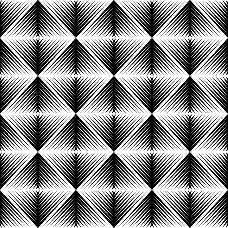 speckled: Design seamless square trellised pattern. Abstract geometric monochrome background. Speckled texture. Vector art Illustration