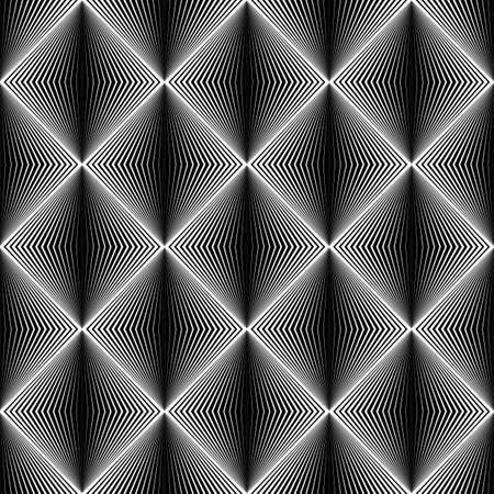 speckle: Design seamless diamond trellised pattern. Abstract geometric monochrome background. Speckled texture. Vector art