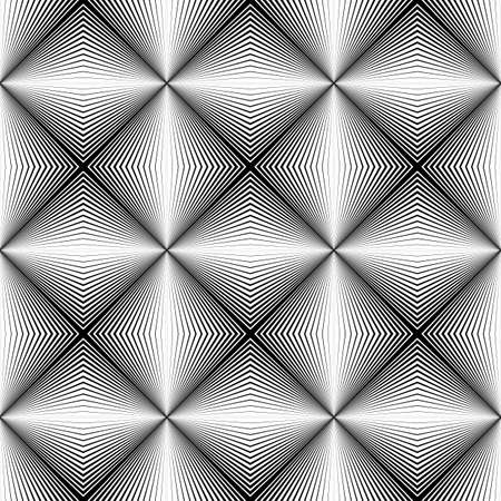 diamond texture: Design seamless diamond trellised pattern. Abstract geometric monochrome background. Speckled texture. Vector art