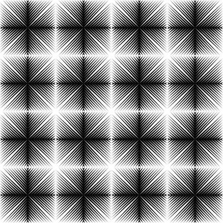 latticed: Design seamless square trellised pattern. Abstract geometric monochrome background. Speckled texture. Vector art Illustration