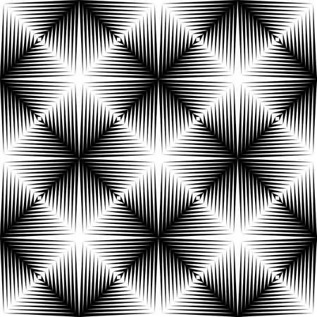 latticed: Design seamless diamond trellised pattern. Abstract geometric monochrome background. Speckled texture. Vector art