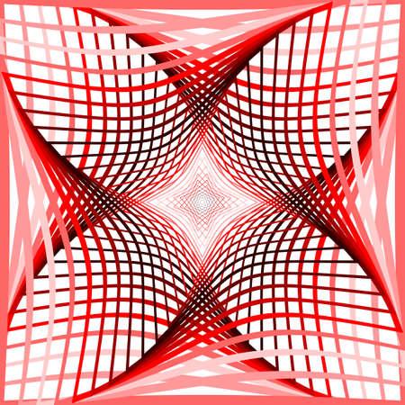 wattle: Design colorful twirl grid background.