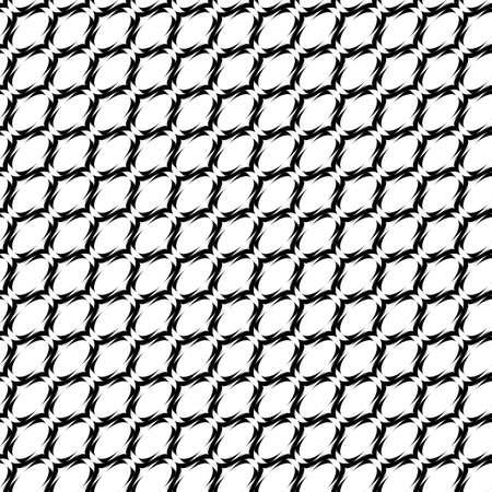 elipse: Projeto monocrom�tico sem emenda teste padr�o geom�trico elipse linhas. Ilustra��o