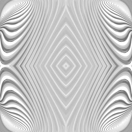 distortion: Design monochrome geometric striped background. Abstract distortion backdrop. Vector-art illustration.