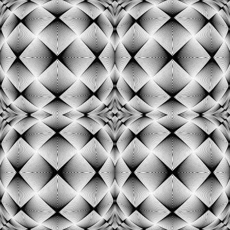 wattle: Design monochrome decorative background. Abstract trellised texture. Vector-art illustration. No gradient